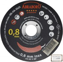 ABRABORO® Chili INOX GOLD EDITION  125 x 0.8 x 22mm