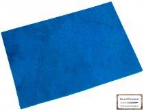 Bőr lap, Kék színű, növényi cserzett bőr lap