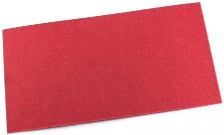 Vulcanfíber piros 1mm vulkanizált