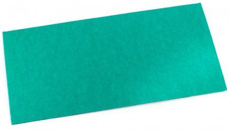 Vulcanfíber világoszöld 0,8 mm