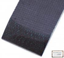 Juta Micarta, fekete panel pár, 9.5mm